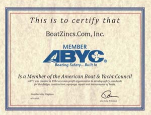 BoatZincs.com is a member of ABYC