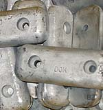 Zinc Anodes for DOK Sea Strainers
